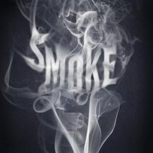 Буквы из дыма